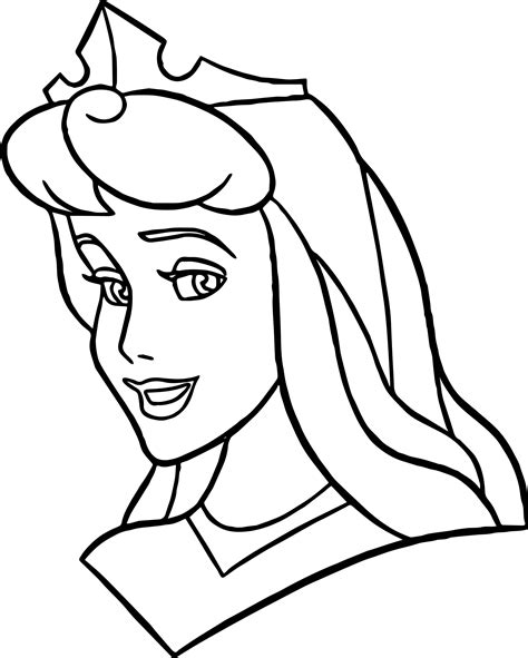 Makeup Face Coloring Pages Sketch Coloring Page Disney Princess Faces Coloring Pages Printable