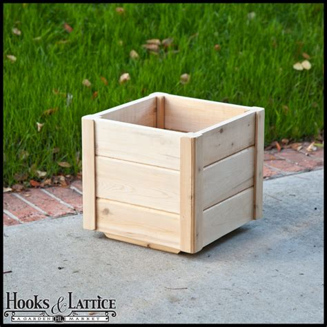 Deck Planter Boxes by Cedar Wooden Deck Planters Wood Planter Boxes