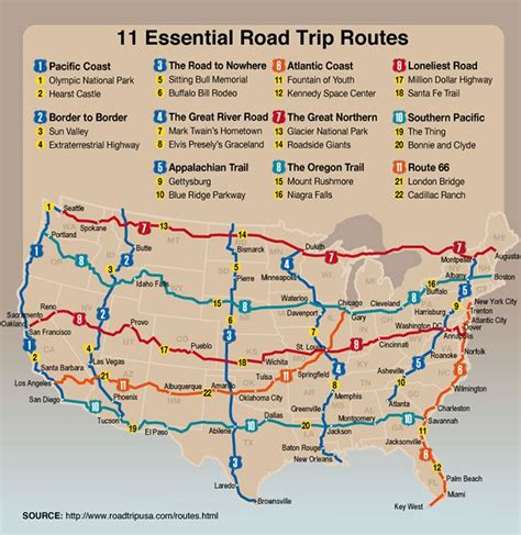 map usa routes 25 best ideas about road trip usa on usa