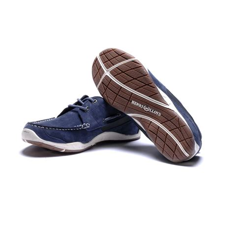 deck shoes henri lloyd valencia leather deck shoes boat shoes navy
