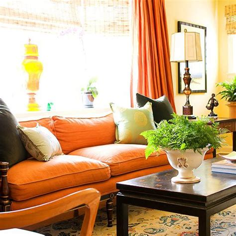 picture of cozy and inviting fall living room decor ideas