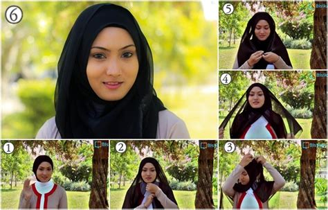 tutorial hijab paris segiempat untuk sehari hari tutorial hijab paris segi empat yang mudah dan cantik