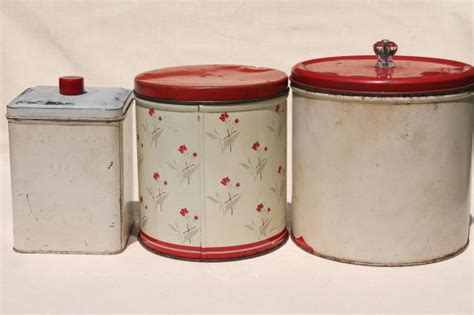 vintage metal kitchen canisters vintage metal kitchen canisters home design ideas and