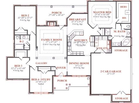 home blueprint european style house floor plans with european home plan