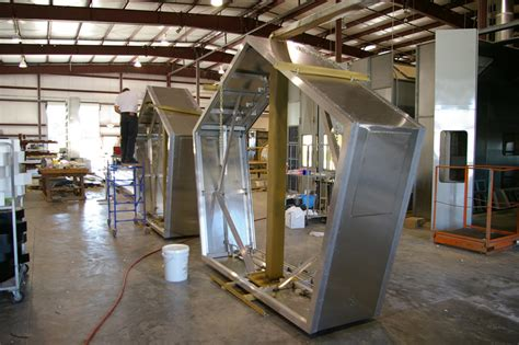 wholesale aluminum extruded custom sign cabinets