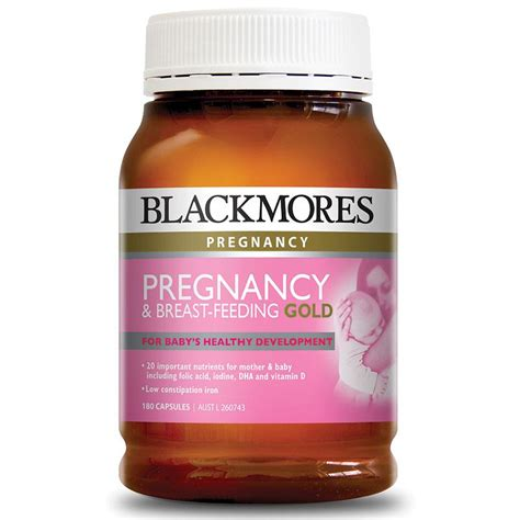 Blackmores Pregnancy Breast Feeding Gold 180 Caps Ori 3 buy blackmores pregnancy and gold 180