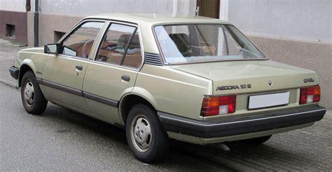 Opel Ascona by Opel Ascona C