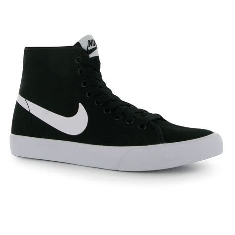 nike shoes for high tops black and white