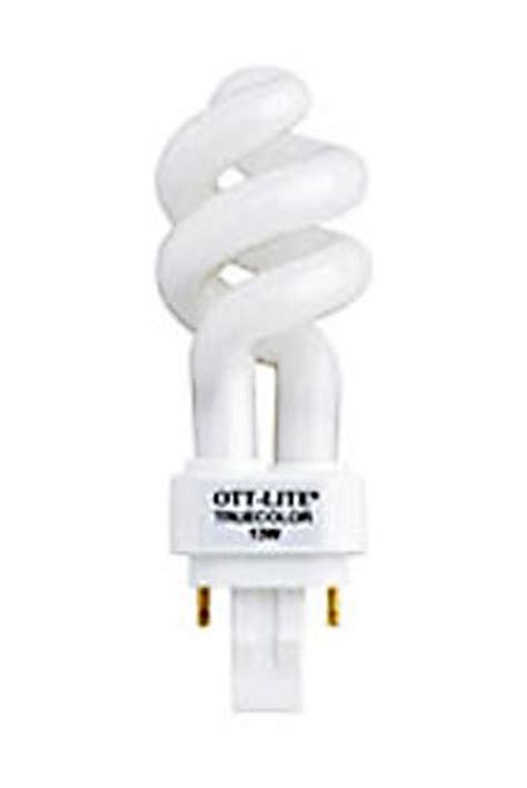 ott light l ott lite 13 plug in swirl compact fluorescent light