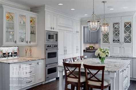 houzz features traditional white kitchen  drury design drury design