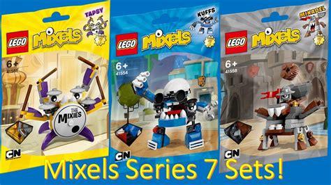 Set Seprei 7 official lego mixels series 7 set bag pictures