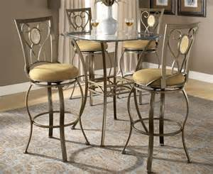 Kitchen Bistro Table Dining Bar Height Kitchen Bistro Table Set Brookside Ebay