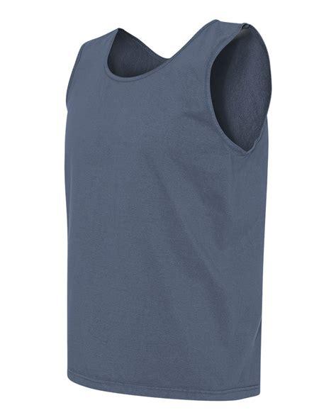 comfort color tank tops comfort colors mens cotton pigment dyed tank top shirt