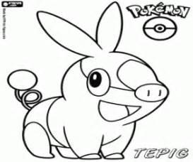 pok 233 mon black and white coloring pages printable games 3