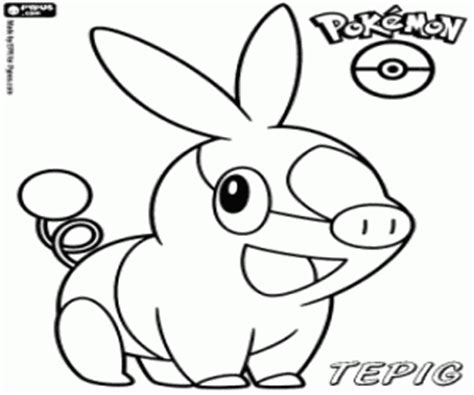coloring pages pokemon tepig pok 233 mon black and white coloring pages printable games 3