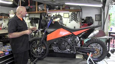 ktm  super moto  super enduro conversion youtube