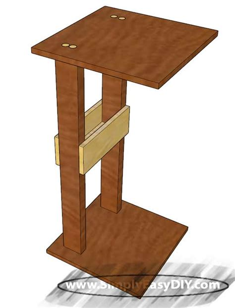 the arm sofa table sofa arm table diy brokeasshome com