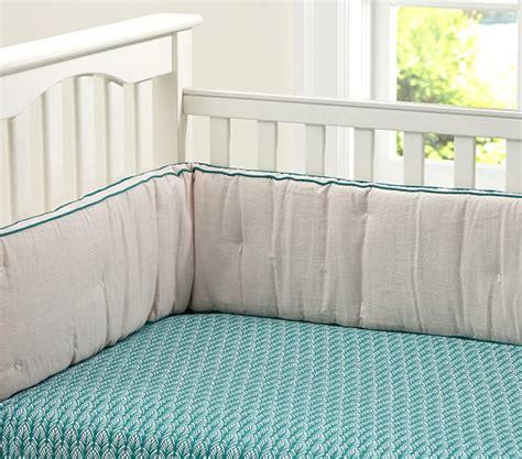 baby bedroom borders bright border linen baby bedding pottery barn kids