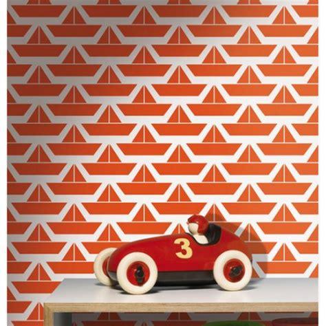 Tapisserie Orange by Papier Peint Divis Orange Lavmi Atelier Du Passage