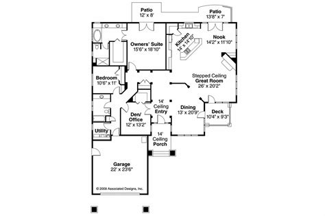prairie style floor plans prairie style house plans meadowbrook 30 659 associated designs