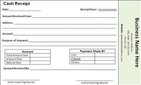 Contract Services Pay Receipt Template by Payment Receipt Template Free Word Templates