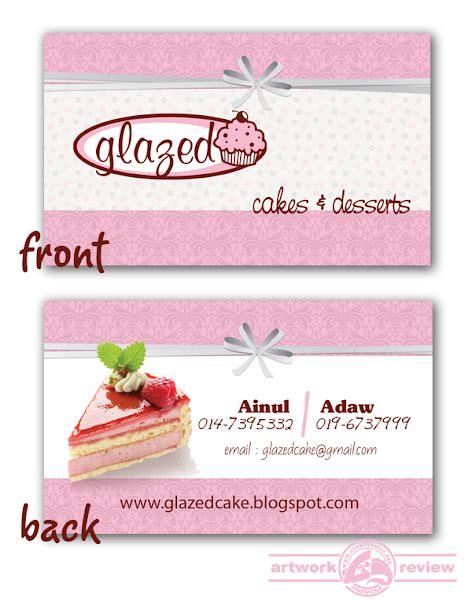 registered design adalah bisnes kad glazed cake creativcolor bicara idea