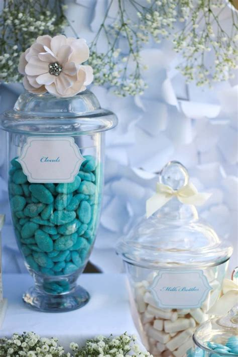 Blue And Gold Baby Shower by Kara S Ideas Blue Gold Baby Shower