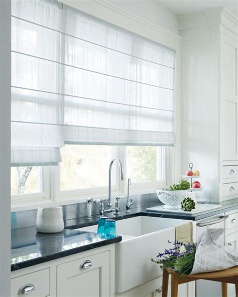 Decorating Ideas For Kitchen Window Treatments 20 Beautiful Window Treatment Ideas For Kitchen And