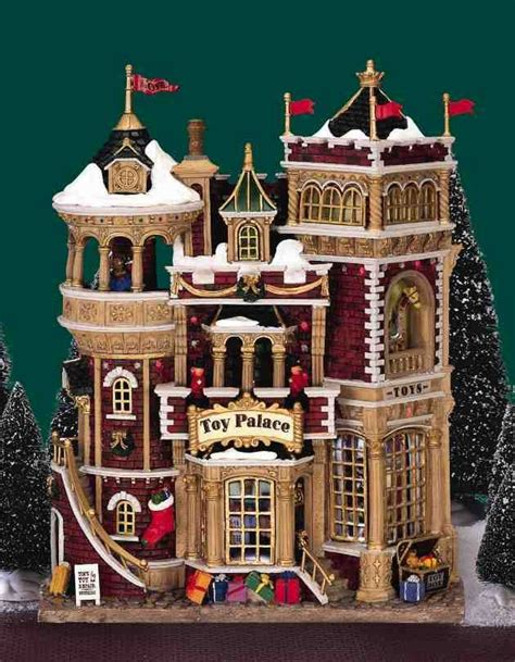 battery operated lights for christmas village houses