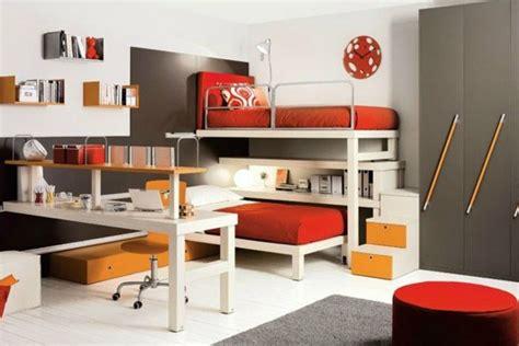 designer kinderzimmer einrichtung hochbett im zimmer moderne einrichtungsideen