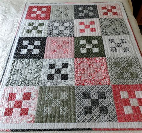 Black And White Patchwork Quilt - quilt sofa throw patchwork black olive and white