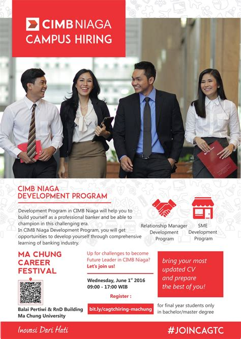 amazon indonesia career cimb niaga cus hiring studentjob indonesia