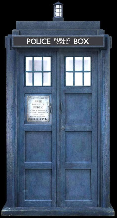 Police Box Otherwise Known By Its Other Name The Tardis Blue Front Door