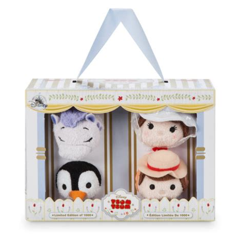 mary poppins boxed pin set first look exclusive d23 expo 2017 tsum tsum sets my