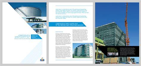 leaflet design options corporate brochure for dubai company kid