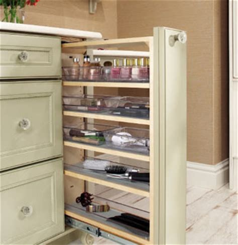 vanity filler pull out modern bathroom cabinets