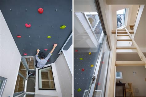 house with climbing wall climberism magazine