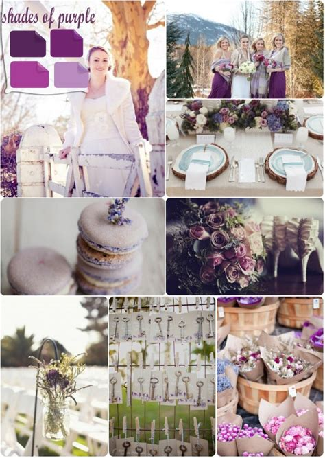 wedding colour themes autumn and winter weddings winter wedding color palette 2013 trends