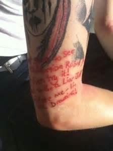 tattoo sleeve lyrics slipknot tattoos designs ideas and meaning tattoos for you