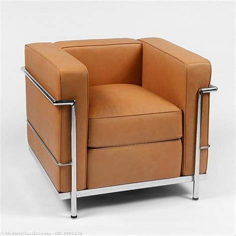 Modern Classics Furniture by Le Corbusier Lc2 Lounge Chair From Modern Classics