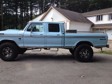 four ford 1976 ford f 250 crewcab classic ford f 250 1976 for sale