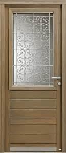 porte entree bois vitree porte d entr 233 e portes bel m