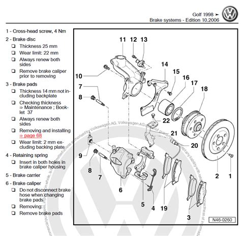car repair manuals online pdf 2003 volkswagen golf windshield wipe control volkswagen golf 4 1998 2006 repair manual factory manual