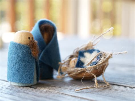 Handmade Nativity - make a handmade nativity set joseph and the