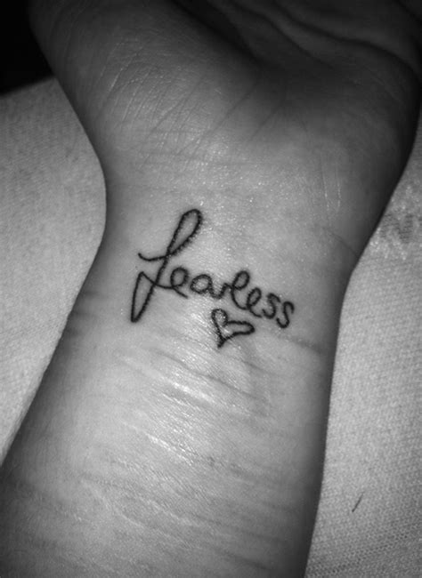 fearless tattoo designs 28 adorable fearless wrist tattoos