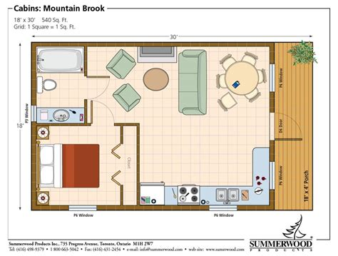 cabin cottage bunkies garage home studio floor plans