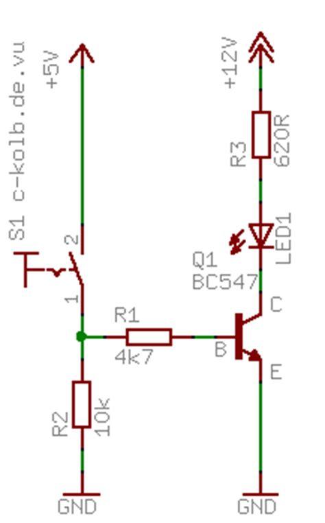 transistor npn anschluss npn oder pnp c kolb