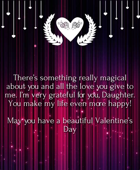 happy valentines day to my daughters valentines day quotes for my hug2love