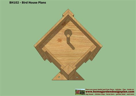 bird houses plans free home garden plans bh102 bird house plans construction