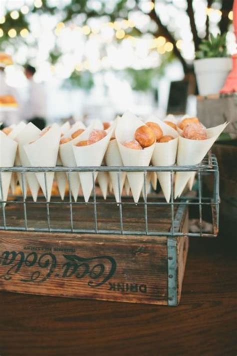 Sweet Table by 6 Delicious Ideas For The Wedding Dessert Table